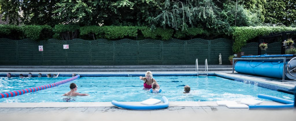 Swimming Lessons Petersfield Open Air Swimming Pool