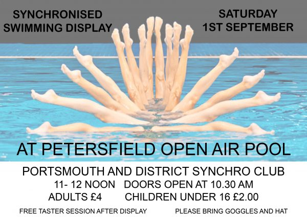 SYNCHRONISED SWIMMING DISPLAY