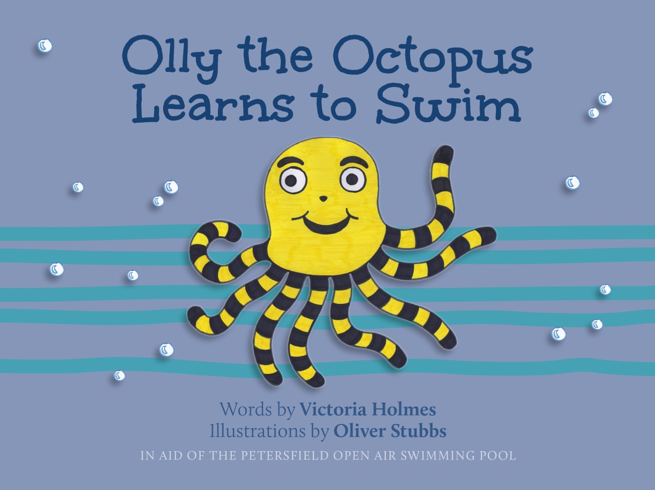 'Olly the Octopus Learns to Swim' – Buy from website or email pool