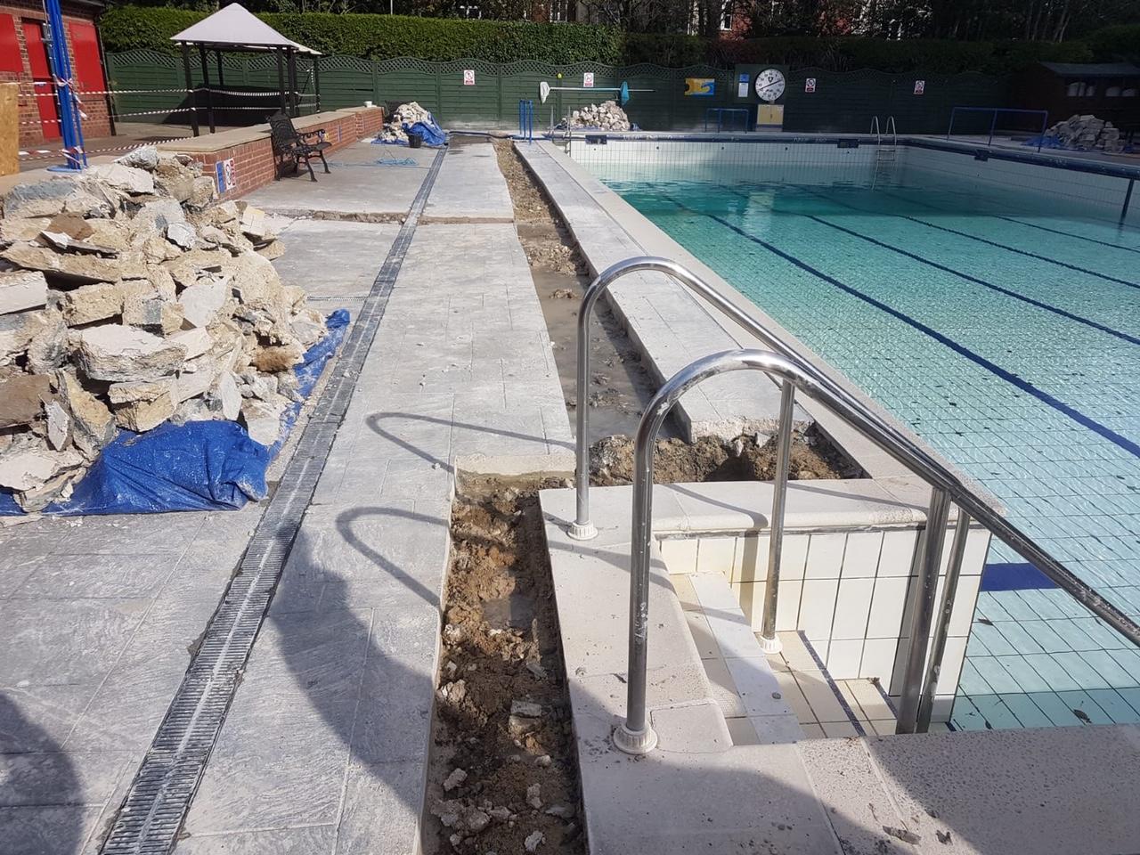 Pool Renovation Project 2020